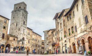 San Gimignano La Toscana Italiana