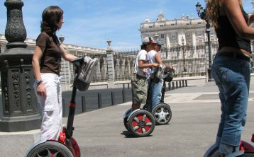 Downtown Madrid Segway Tour