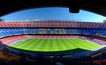 Camp Nou Stadium Tour and F\.C\. Barcelona Museum