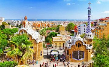 Skip the line: Park Güell walking tour