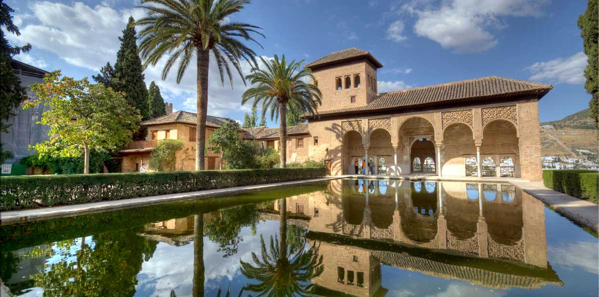 Excursi n a la alhambra de granada desde sevilla nattivus for Jardines nazaries