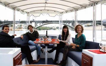 Sevilla: Tour privado en crucero ecológico