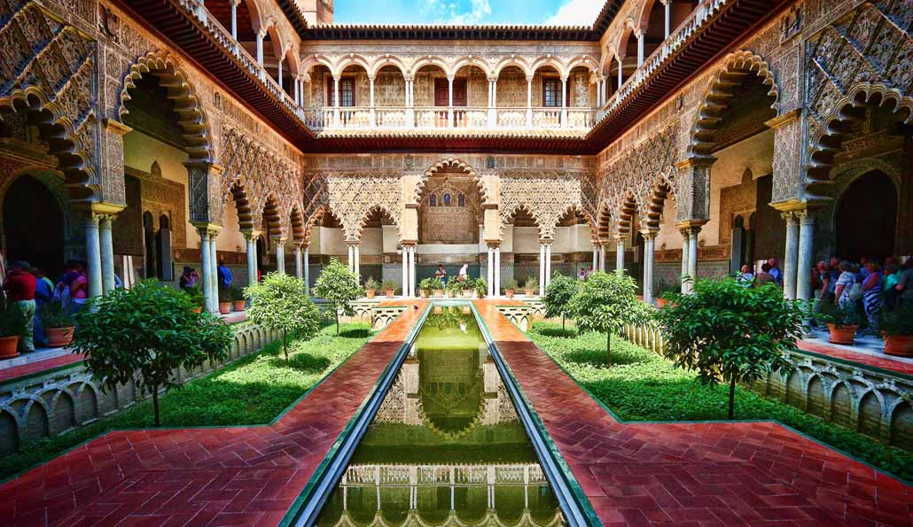 Image result for real alcazar image