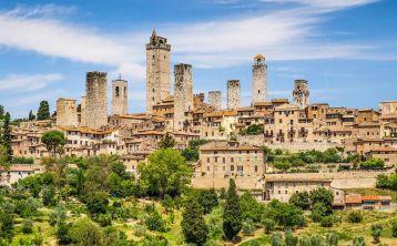 Tuscany Full day Tour: San Gimignano, Siena & Chianti from Florence