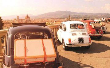Tour por Florencia en Fiat 500 Vintage