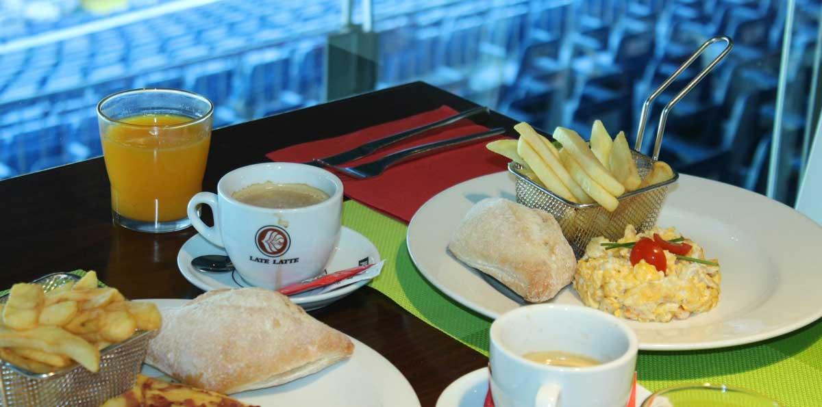 Tour santiago bernab u palco vip y comida en el real caf - Palco santiago bernabeu ...