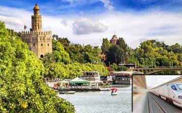 Sevilla en un día: Tren de Alta Velocidad \(AVE\) desde Madrid \+ Visita guiada