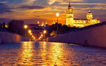 Visita nocturna por Salamanca