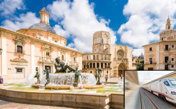 Valencia full day Trip by High Speed Train from Madrid