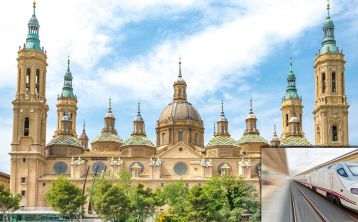 Zaragoza full day Trip by High Speed Train from Madrid \+ Zaragoza Card