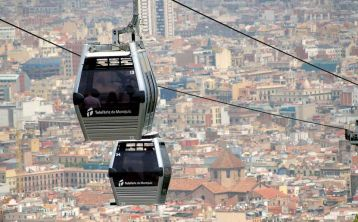 Montjuïc Cable Car Ticket in Barcelona