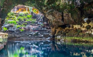 Excursión a Timanfaya, Jameos del Agua y Cueva de los Verdes