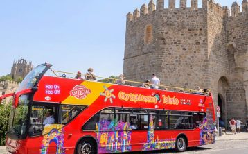 Toledo City Tour Hop On Hop Off bus